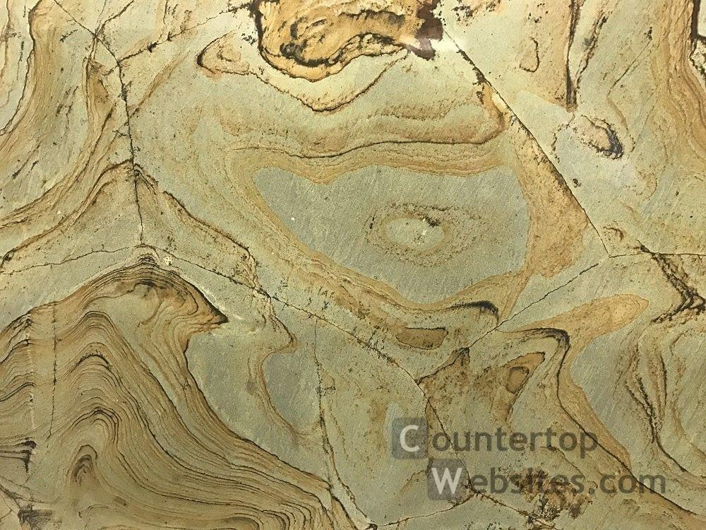 Wasabi Quartzite Countetops at Colonial Marble and Granite