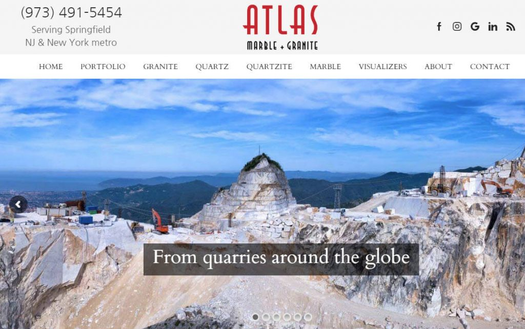 Atlas Marble and Granite - countertop fabricator and retail showroom