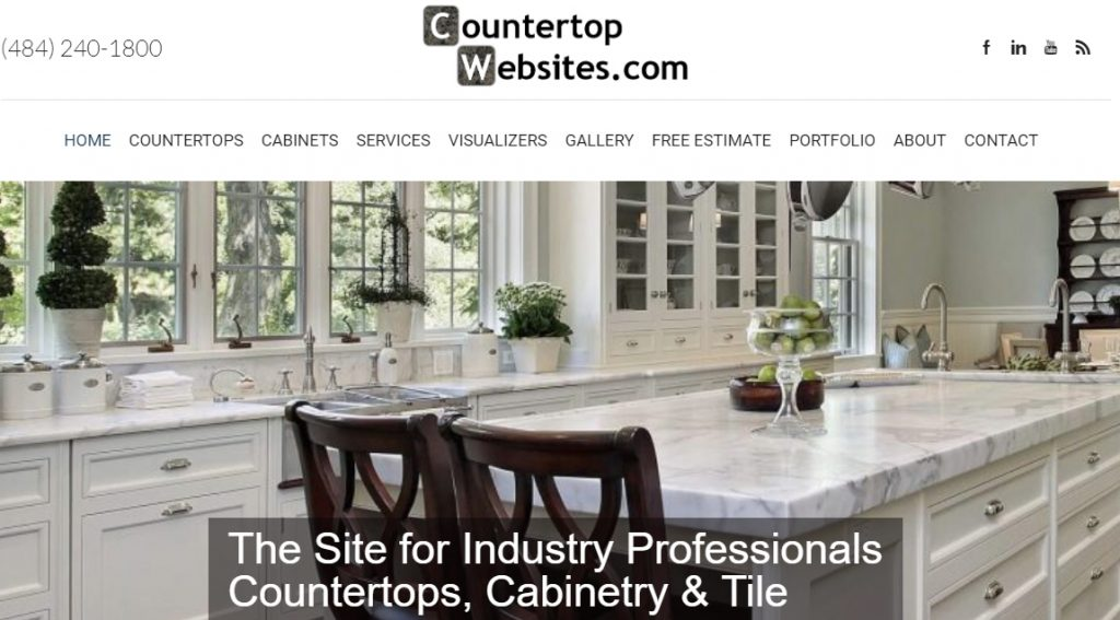 add countertop quartz and solid surface inventory to your website